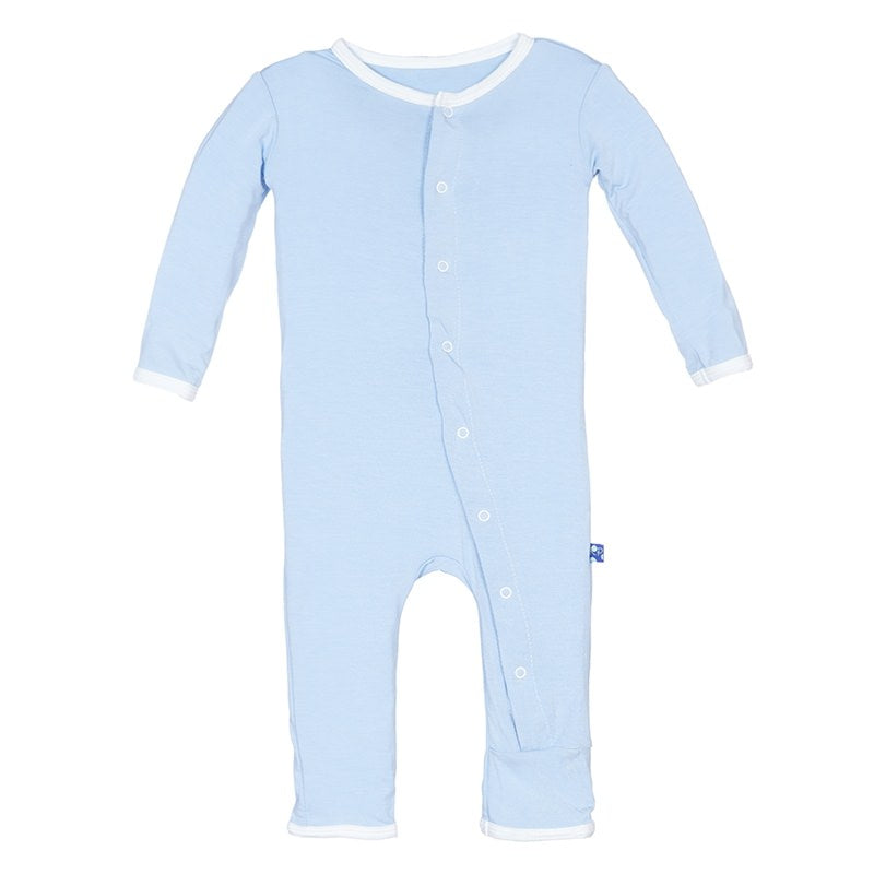 KicKee Pants: Pond I Love Dad Coveralls