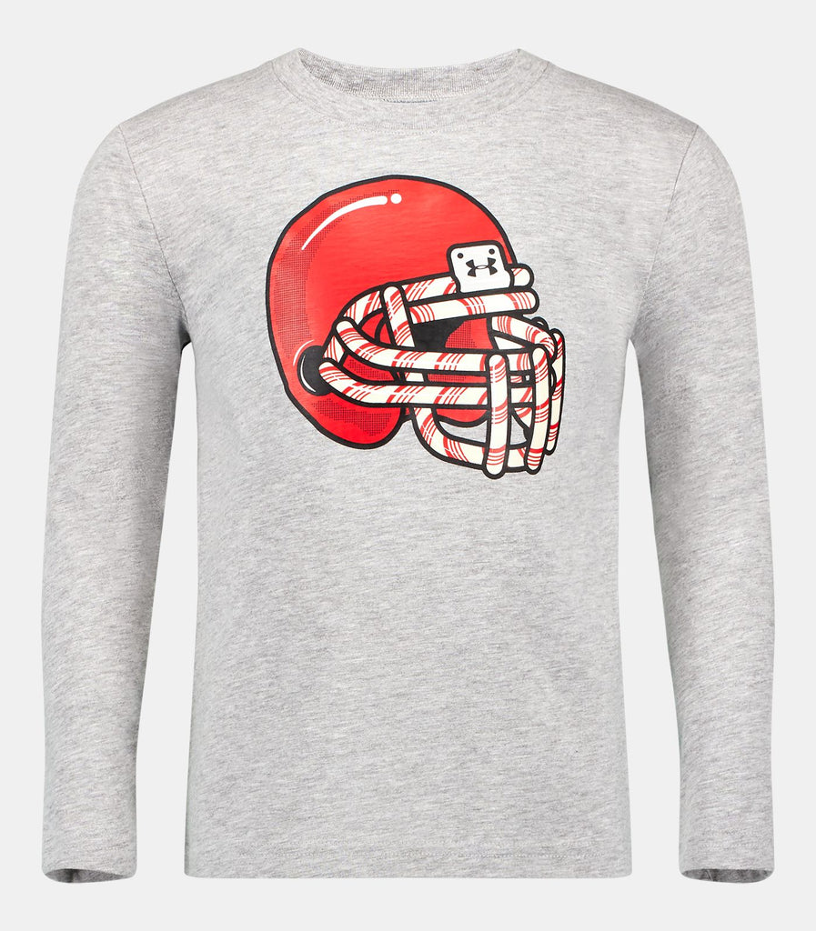 Under Armour Candy Cane Football Tee