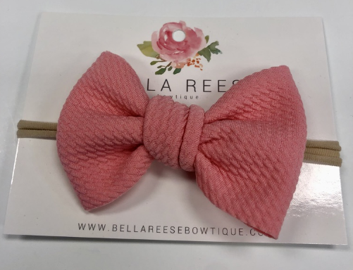 Perfect Pink Baby Bella Bow
