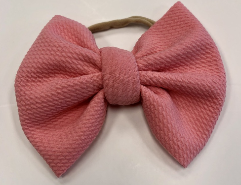 Perfect Pink Bella Bow