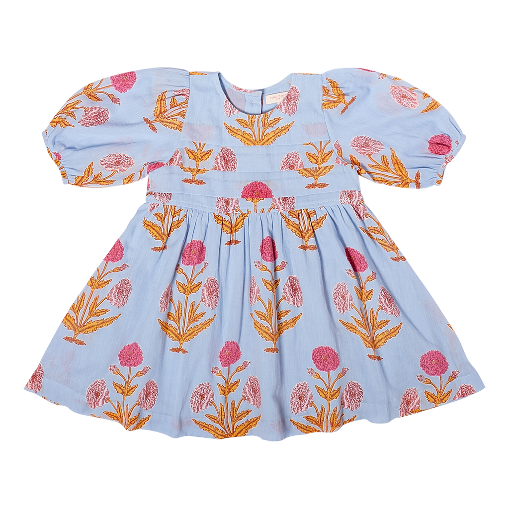 Pink Chicken: Blue Bell Dress