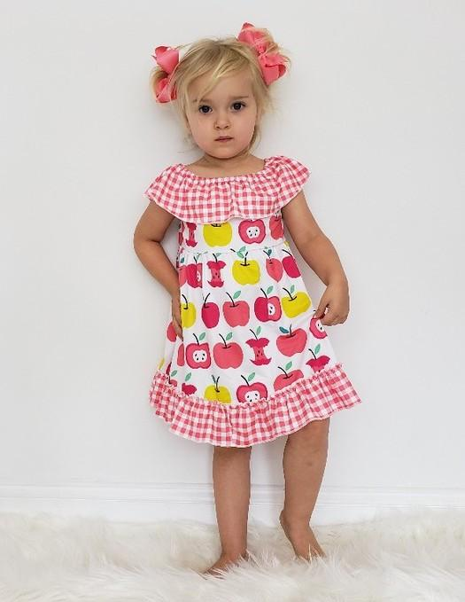 Plaid Apple Dress
