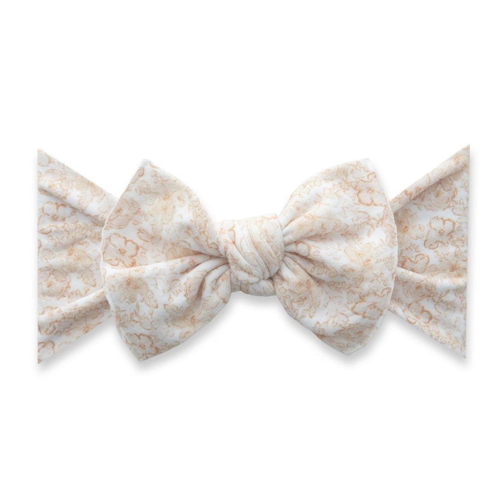 Pretty in Peach Knot Bow