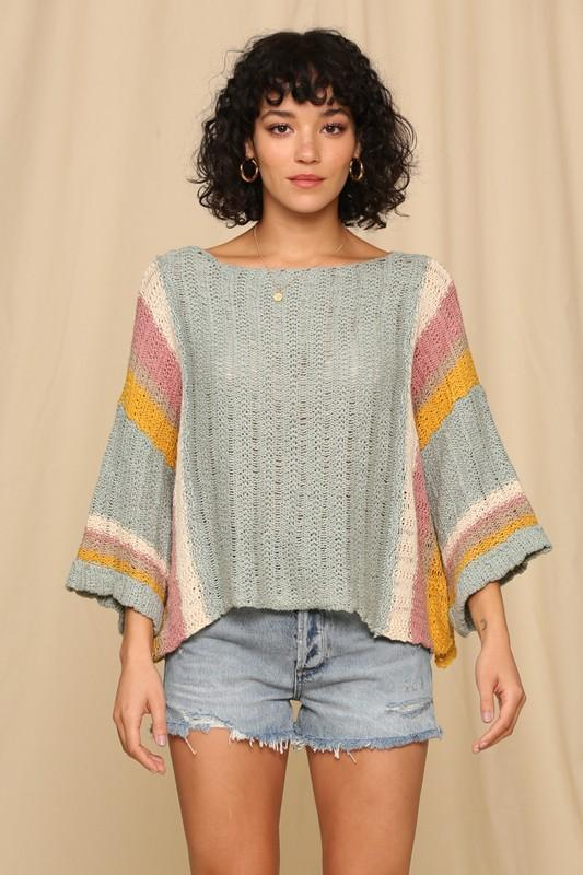 Sage Summer Sweater