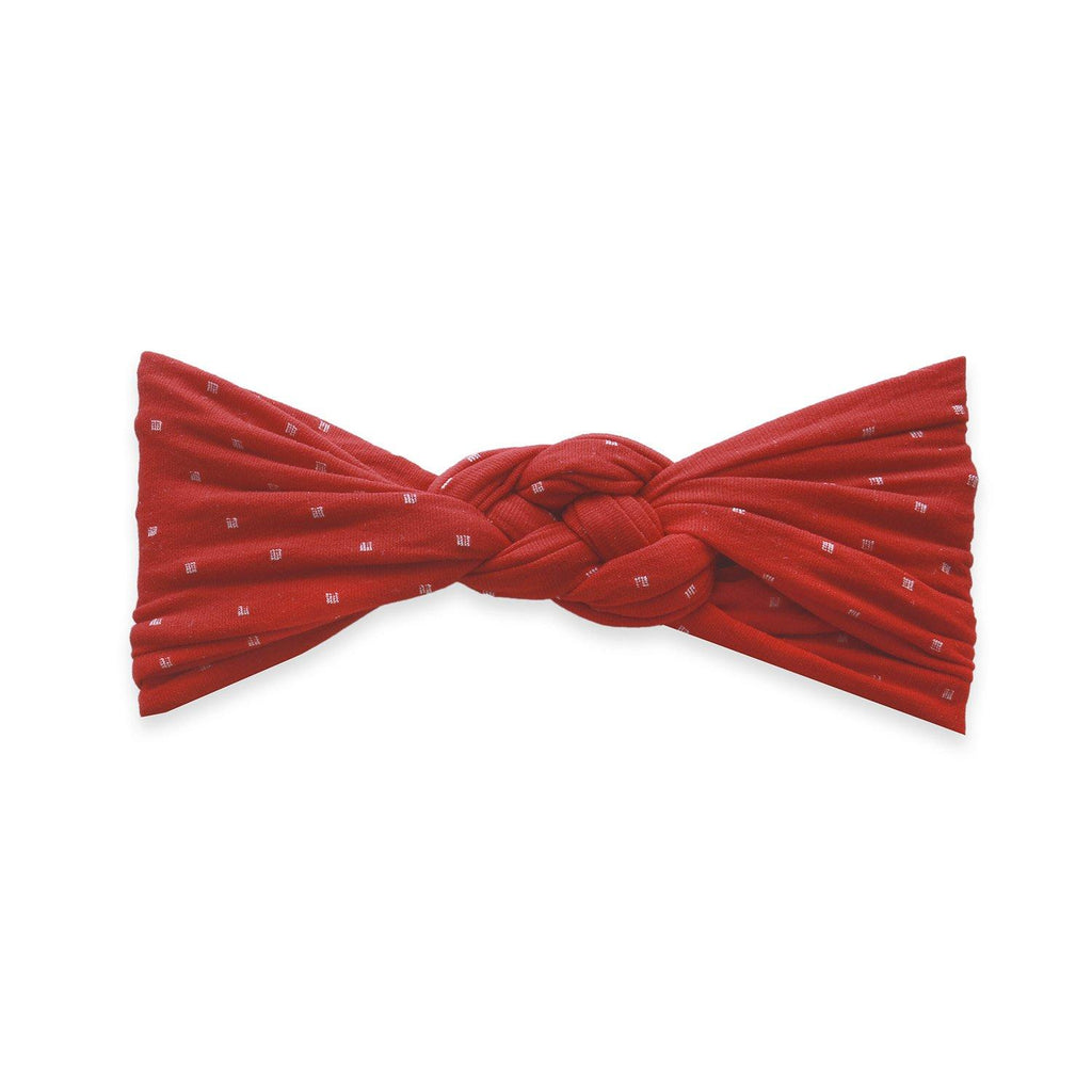 Sailor Knot Cherry Dot Bow