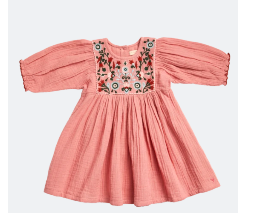 Pink Chicken: Emrbroidery Arianna Dress