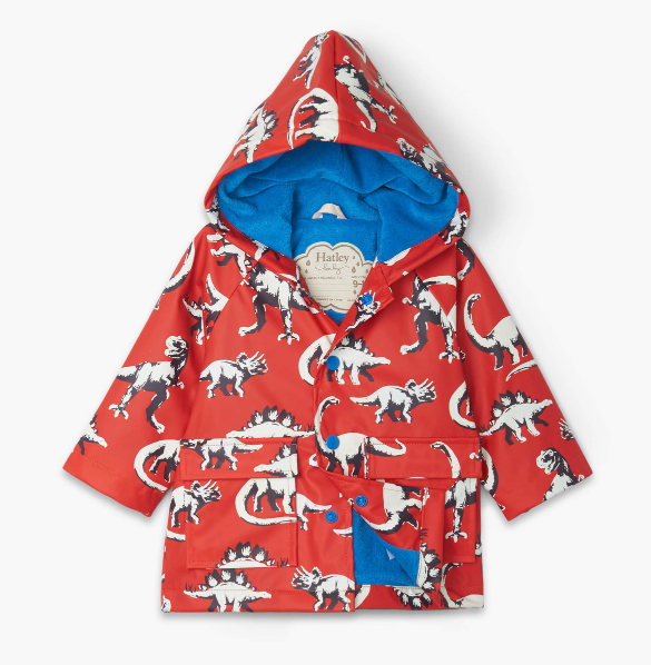 Hatley: Dino Color Changing Raincoat