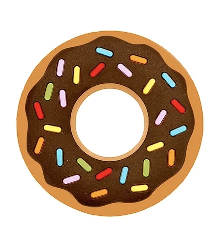Chocolate Donut Teether