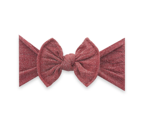 Shimmer Red Knot Bow