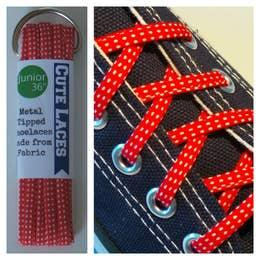 Small Dot Shoe Laces