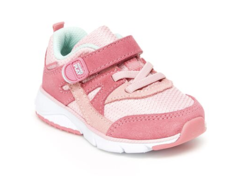 Stride Rite: Pink Ace Sneakers