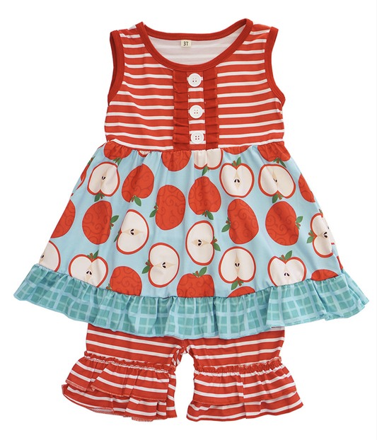 Stripe Apple Set