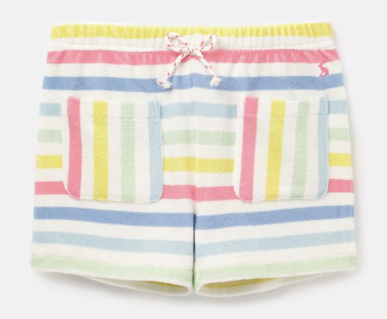 Towelling Multistripe Shorts