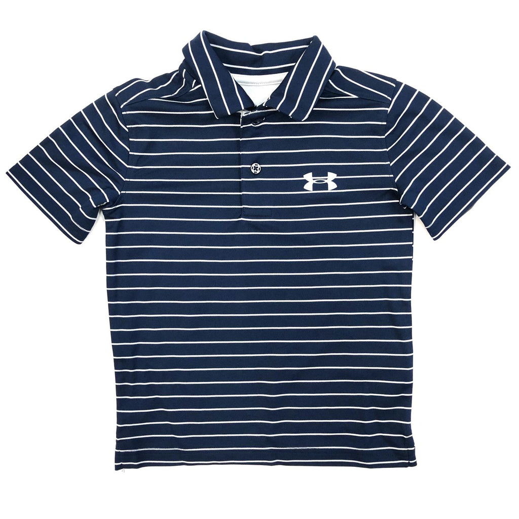 Under Armour: Academy Stripe Polo