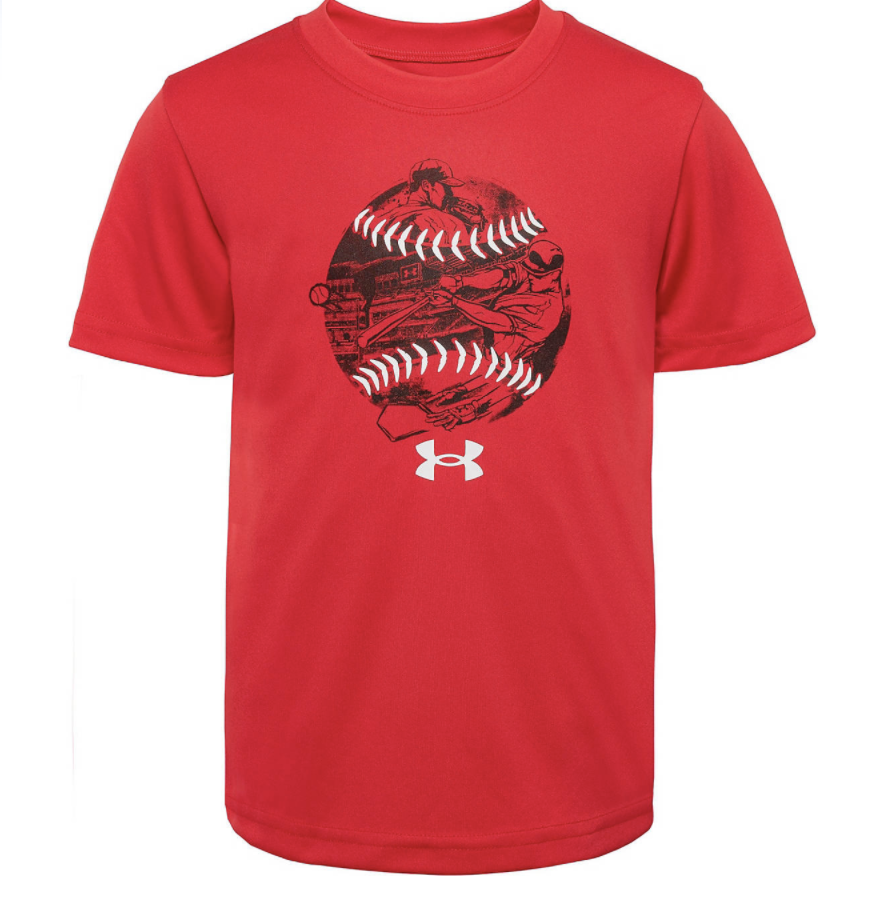 Under Armour Boy's Baseball Story Short Sleeve