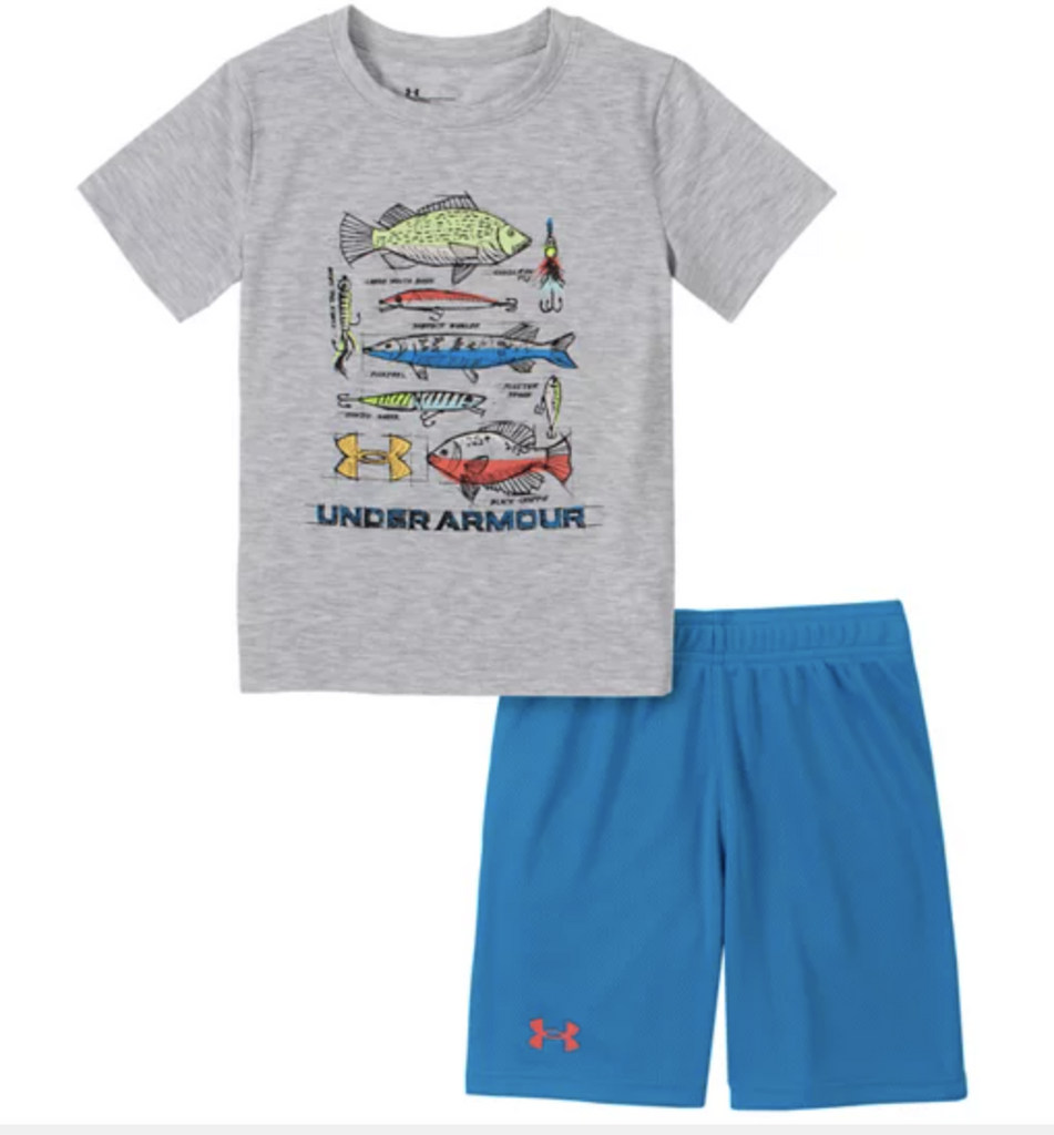 Under Armour Boy's Monster Fish Set