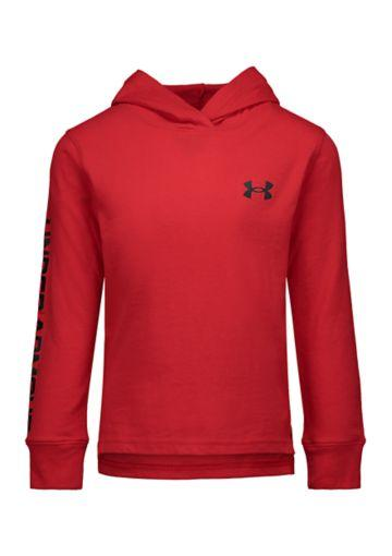 Under Armour: Red Benchmark Hoodie