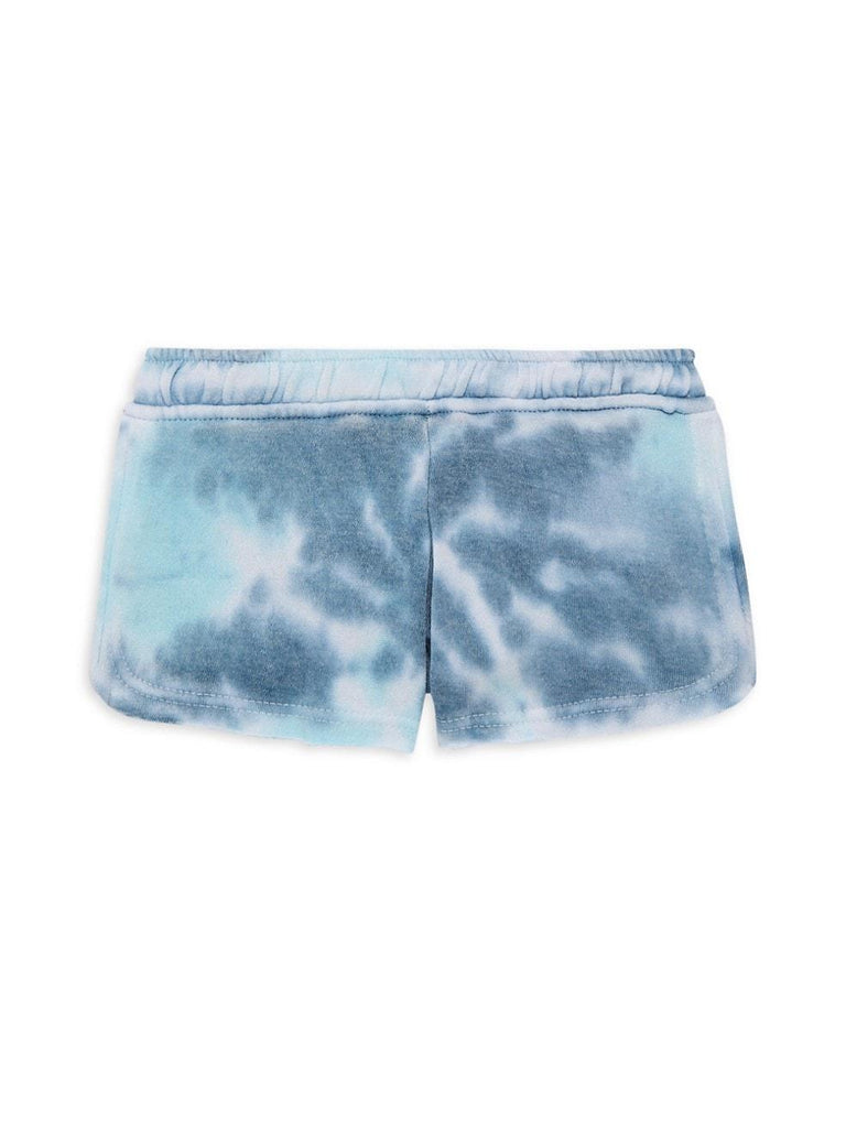 Vintage Havana: Nautical Swirl Burnout Shorts