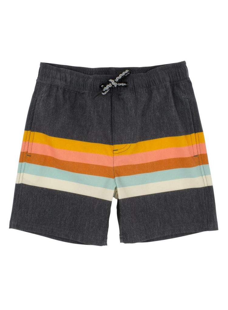 Vintage Stripe Board Shorts