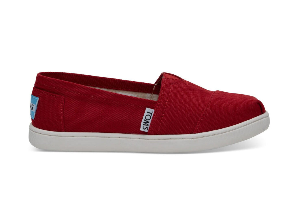 Youth Red Classic Canvas