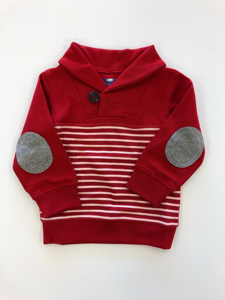 Candy Cane Stripe Pullover