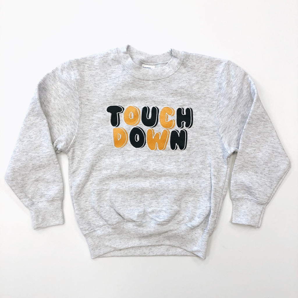 Black & Yellow Touchdown Sweatshirt