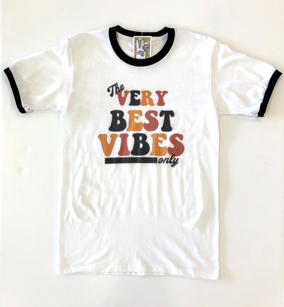 Adult The Very Best Vibes Tee