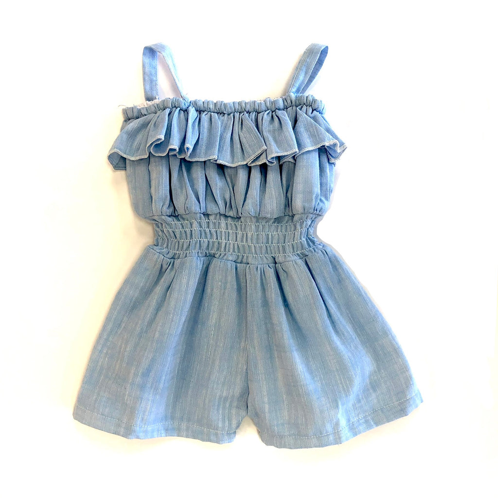 Madison Chambray Romper