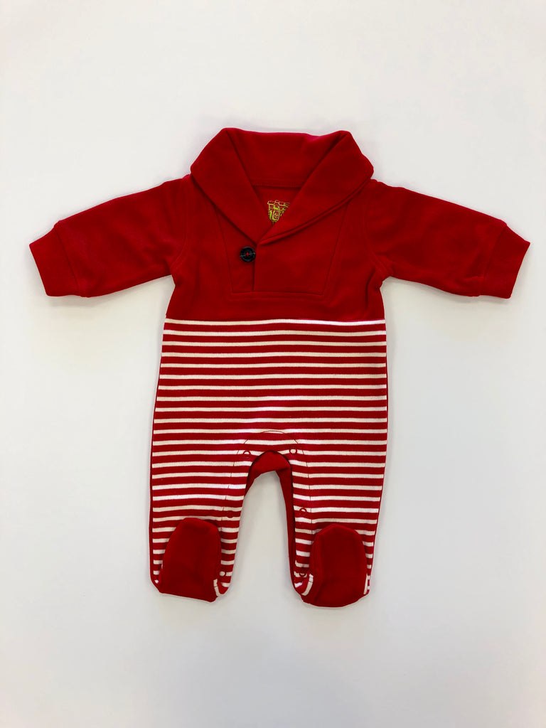 Candy Cane Stripe Coveralls