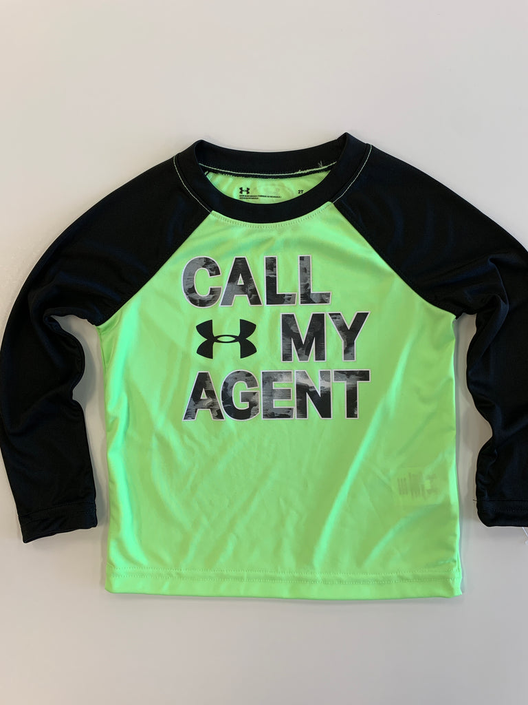Under Armour Call My Agent Raglan