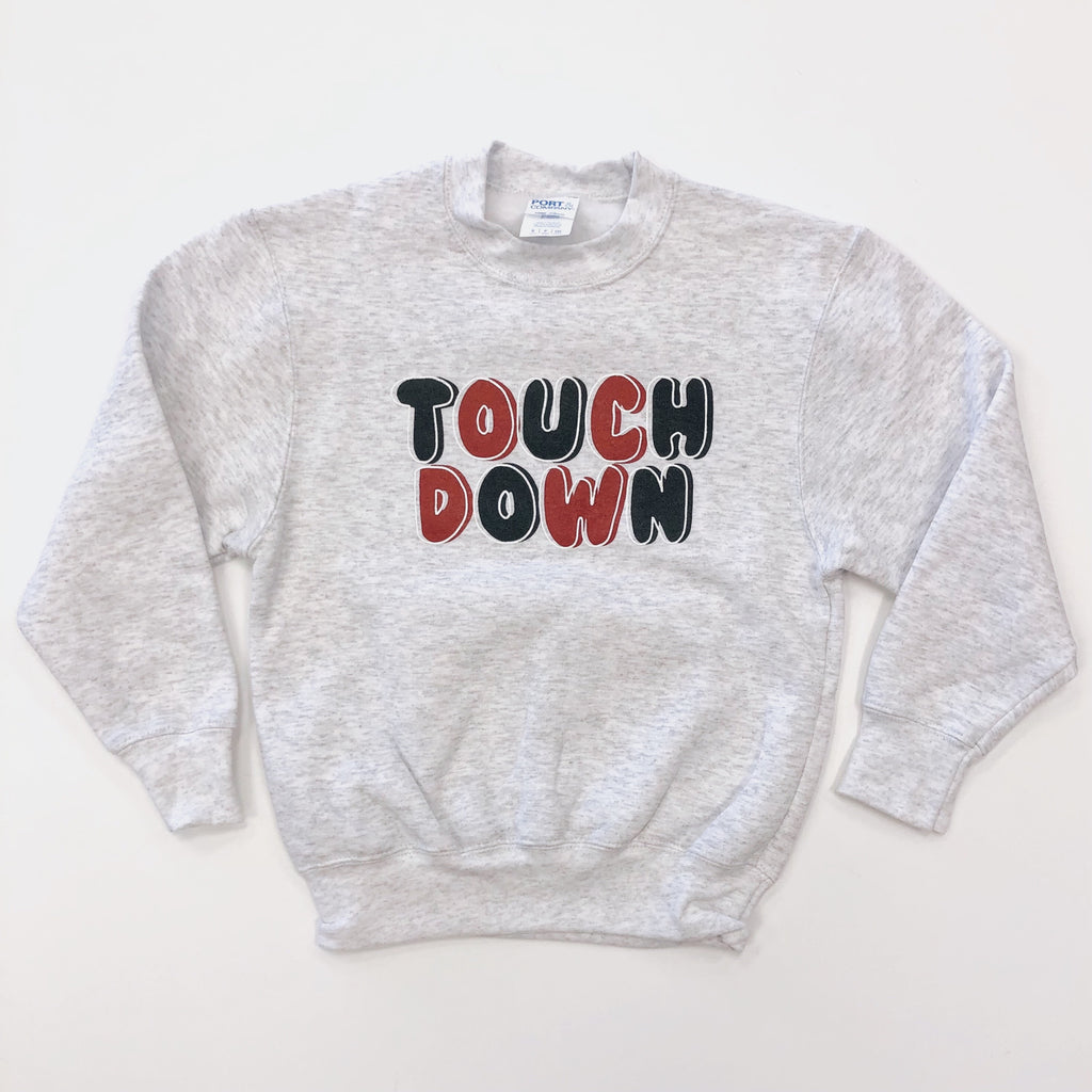 Red & Black Touchdown Sweatshirt