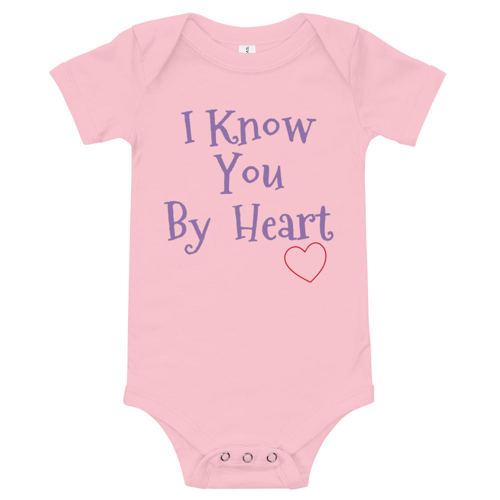 I Know You By Heart - Baby Bodysuit