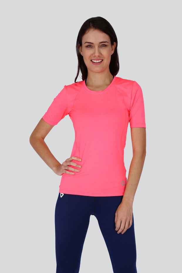 Laser Back Short Sleeve Shirt