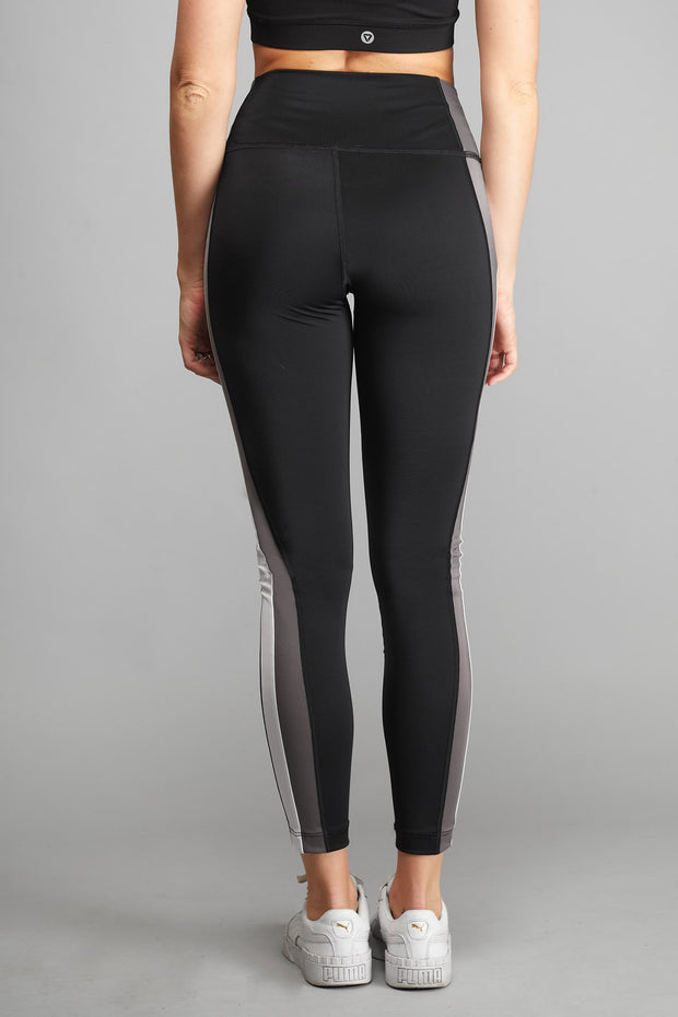 Legging Stripes Gris