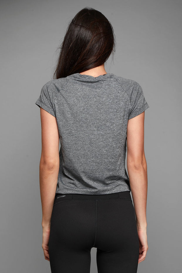 Side Knot Short Sleeve Shirt