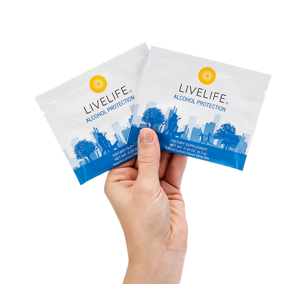 LiveLife Alcohol Protection Sample