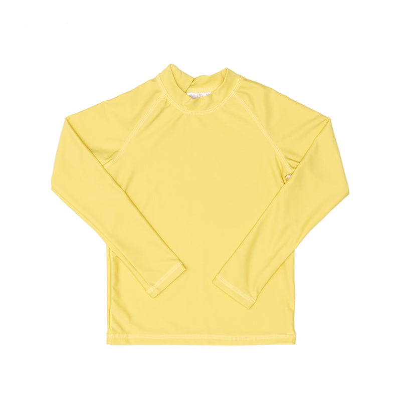 Citrus Yellow  Rash Guard