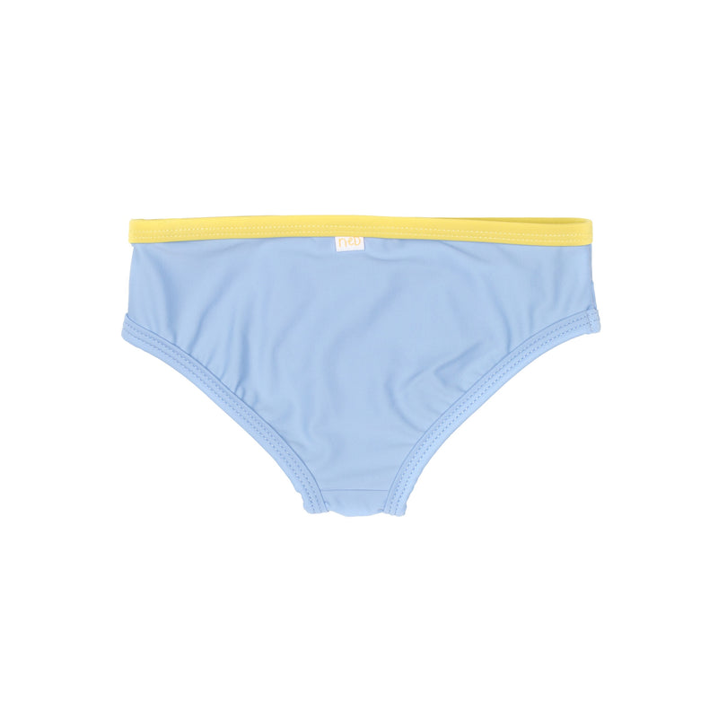 Blue Lagoon girl Swim brief Backside