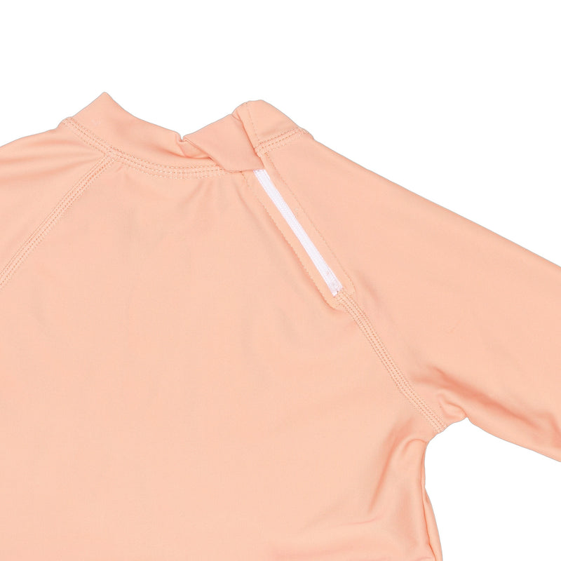 Peachie Rashguard With Back Zipper