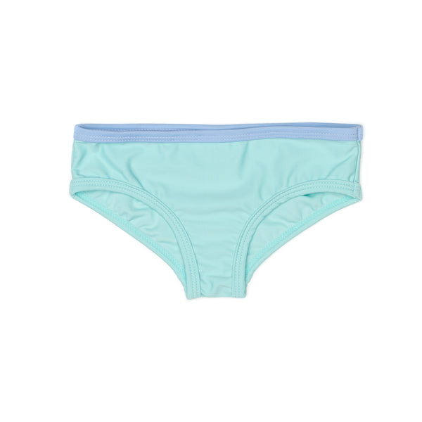 Seaside Green girl Swim brief