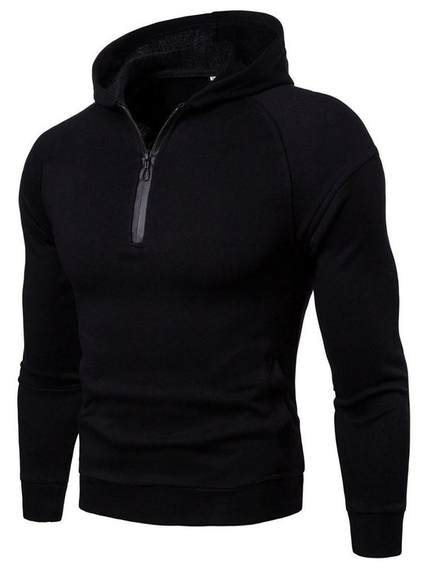 Sweat-shirt Homme Zip Velours Pure Pull Printemps