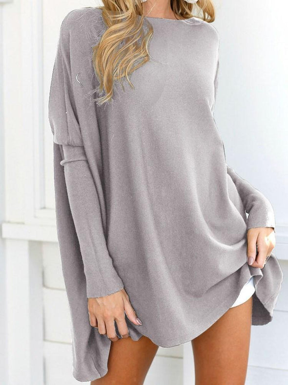 Pull Femme Standard Mi-Longs Manches Longues