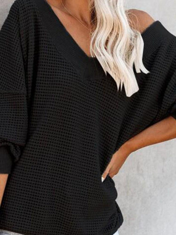 Pull Femme Manches Longues Mi-Longs