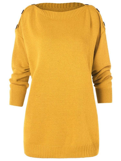 Pull Femme Automne Manches Longues
