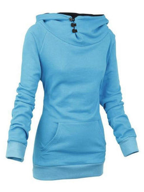 Sweat-shirt Femme Pure Standard Manches Longues Mi-Longs