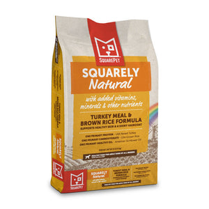 Squarely Natural limited ingredient dog food image.