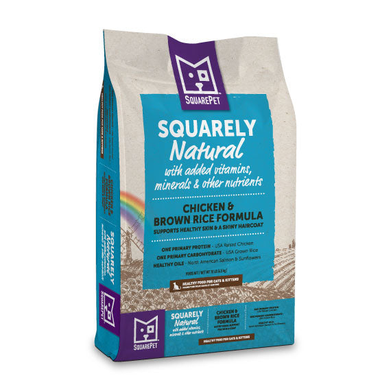 Squarely Natural™ Chicken & Brown Rice for Cats