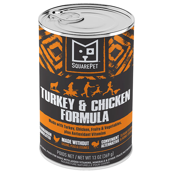 Canine Turkey & Chicken Canned