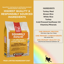 Squarely Natural limited ingredient dog food ingredients.