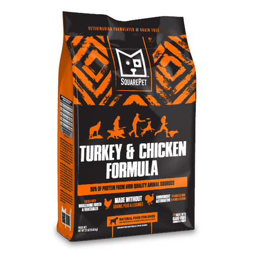 SquarePet Turkey & Chicken Dog Food